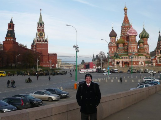 Mike in Russia